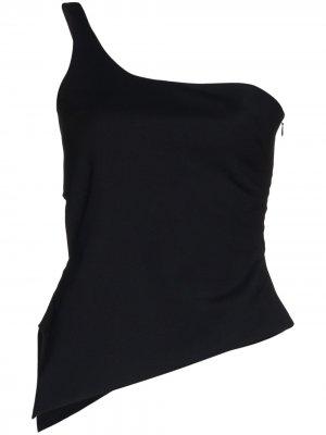 Motion one-shoulder top Coperni. Цвет: черный