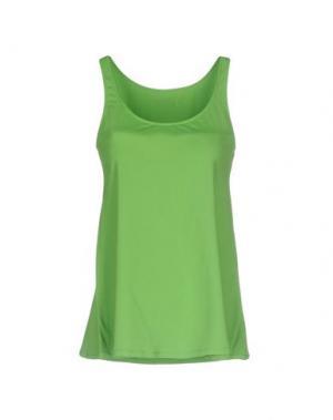 Майка FISICO. Цвет: зеленый