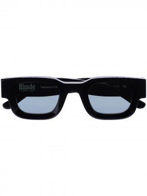 Солнцезащитные очки из коллаборации с Rhude Rhevision 101 Thierry Lasry. Цвет: серый