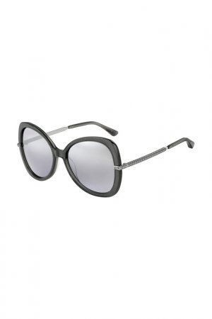 Очки cолнцезащитные Jimmy Choo. Цвет: серый