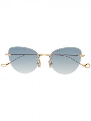 Солнцезащитные очки Liz C-4-25F Eyepetizer. Цвет: золотистый