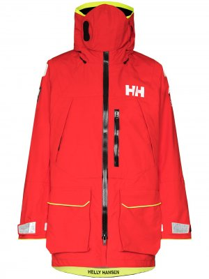 Куртка Aegir Ocean на молнии Helly Hansen. Цвет: красный