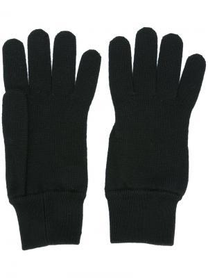 Классические перчатки Dolce & Gabbana. Цвет: чёрный