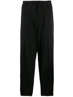 Классические брюки строгого кроя Dsquared2. Цвет: черный