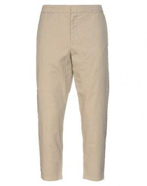 Повседневные брюки BARENA. Цвет: песочный