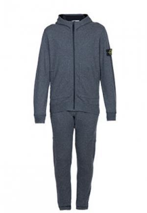 Спортивный костюм STONE ISLAND. Цвет: серый