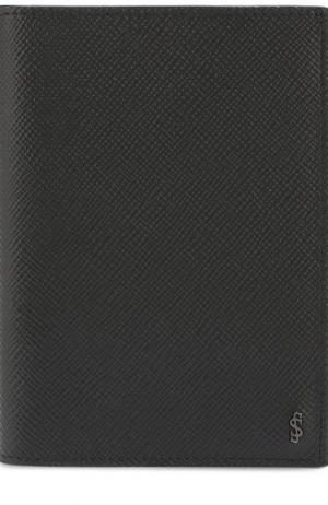 Кожаная обложка для паспорта Evoluzione Serapian. Цвет: черный