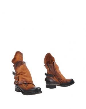 Полусапоги и высокие ботинки AIR STEP. Цвет: верблюжий