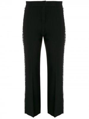 Укороченные брюки строгого кроя Max Mara. Цвет: черный