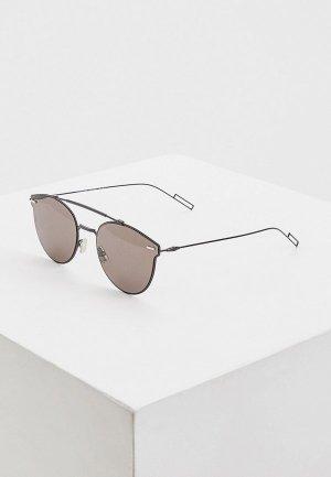 Очки солнцезащитные Christian Dior Homme DIORPRESSURE 807. Цвет: черный