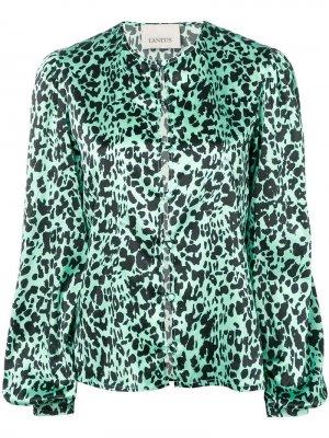 Блузка с леопардовым принтом Laneus