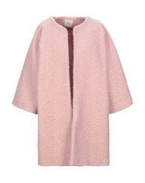 Пальто H2O ITALIA. Цвет: розовый