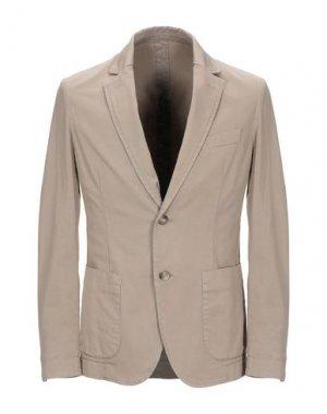 Пиджак CRUNA. Цвет: песочный