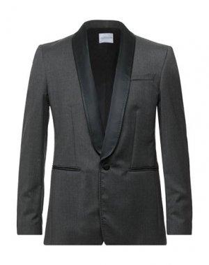 Пиджак ALL APOLOGIES. Цвет: серый