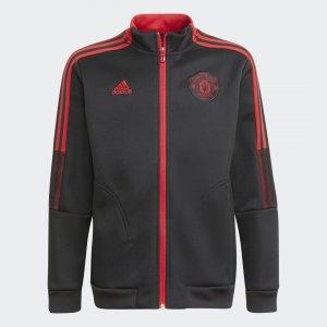 Гимновая куртка Манчестер Юнайтед Tiro Performance adidas. Цвет: красный