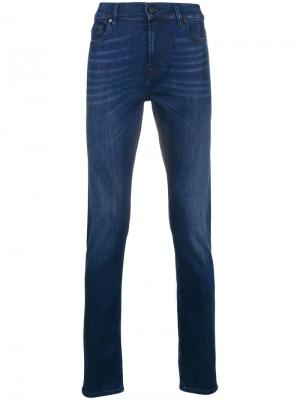 Luxe performance jeans 7 For All Mankind. Цвет: синий