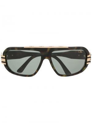 Солнцезащитные очки-авиаторы Cazal. Цвет: коричневый