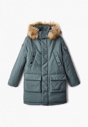 Куртка утепленная АксАрт. Цвет: зеленый