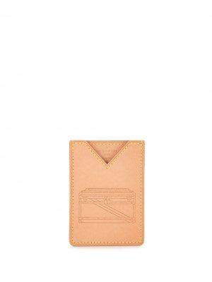 Папка для документов Volez Voguez 2018-го года Louis Vuitton. Цвет: коричневый