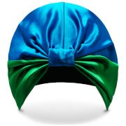 Тюрбан для волос SILKE Hair Wrap Isla - Blue and Green London