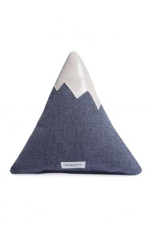 Подушка Альпийская вершина Moonsters. Цвет: серый