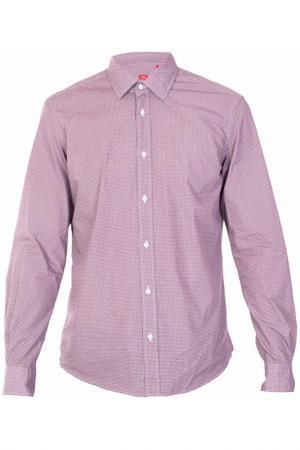 Рубашка Altea. Цвет: бордовый
