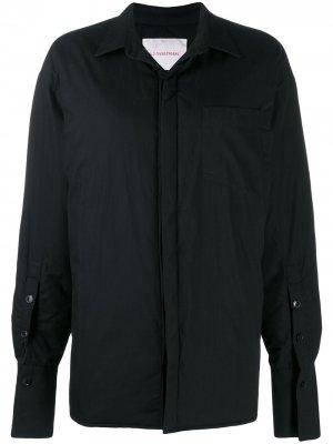 Куртка оверсайз A.F.Vandevorst. Цвет: черный