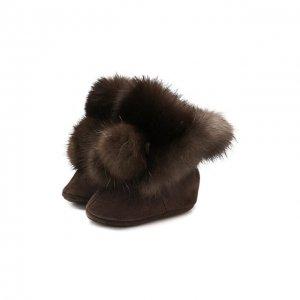 Сувенир Пинетки Black Sable. Цвет: коричневый