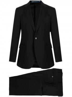 Костюм с однобортным пиджаком Polo Ralph Lauren. Цвет: черный