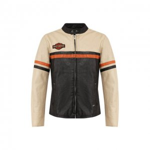 Кожаная куртка 1903 Harley-Davidson. Цвет: разноцветный