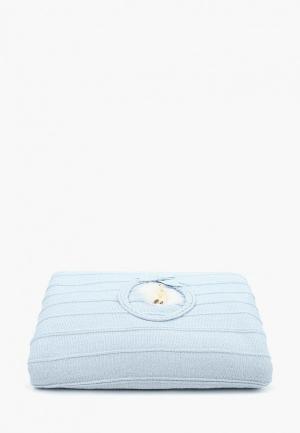 Одеяло детское NPL Nipperland. Цвет: голубой