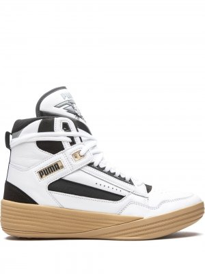 Кроссовки Clyde All-Pro Kuzma Puma. Цвет: белый