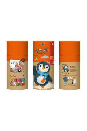 Набор для шитья Пингвин Avenir. Цвет: оранжевый