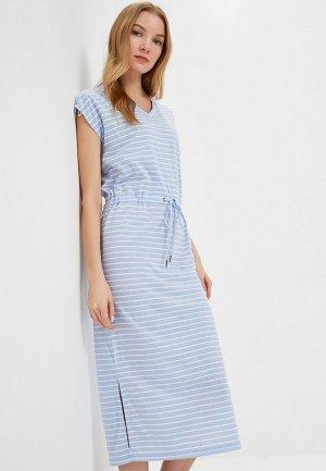 Платье b.young. Цвет: голубой