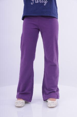 Брюки Arina Ballerina. Цвет: фиолетовый