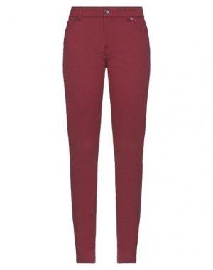 Повседневные брюки HENRY COTTON'S. Цвет: кирпично-красный