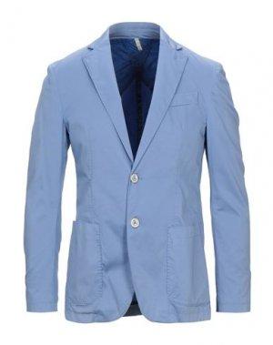 Пиджак DOMENICO TAGLIENTE. Цвет: светло-фиолетовый