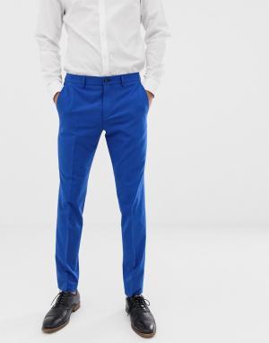 Синие эластичные облегающие брюки премиум-класса -Синий Jack & Jones