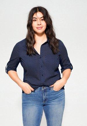 Блуза Violeta by Mango - PLANAP6. Цвет: синий