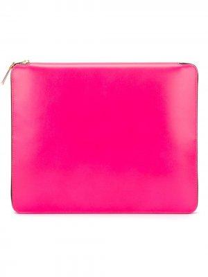 Чехол для планшета New Super Fluo Comme Des Garçons Wallet. Цвет: розовый