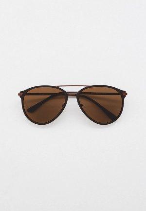 Очки солнцезащитные Prada с поляризационными линзами, PR 51WS GAP01D. Цвет: коричневый
