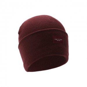 Шерстяная шапка Rag&Bone. Цвет: красный