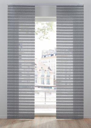 Японская штора bonprix. Цвет: серый