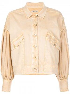 Джинсовая куртка Griffin Ulla Johnson. Цвет: нейтральные цвета