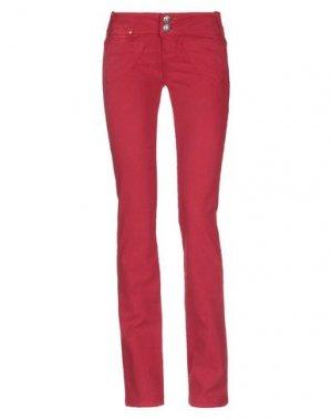 Джинсовые брюки KILLAH. Цвет: кирпично-красный