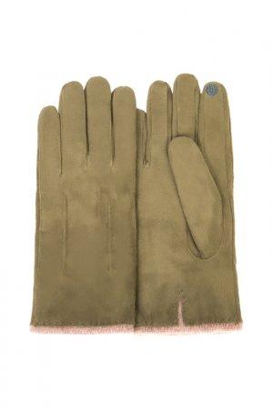 Перчатки Dali Exclusive. Цвет: фисташковый
