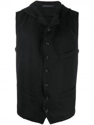 Классический жилет Yohji Yamamoto. Цвет: черный