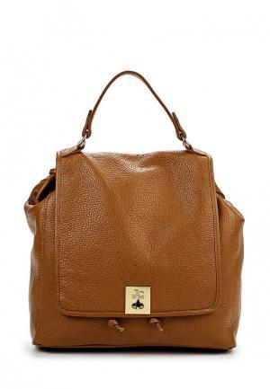 Рюкзак Jacky&Celine. Цвет: коричневый
