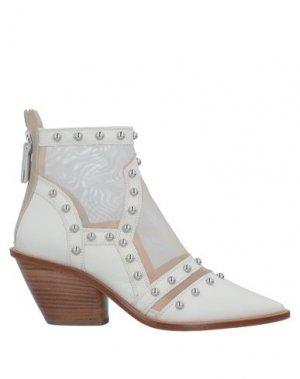 Полусапоги и высокие ботинки AGL ATTILIO GIUSTI LEOMBRUNI. Цвет: слоновая кость