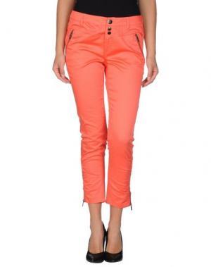 Повседневные брюки FRANSA. Цвет: коралловый